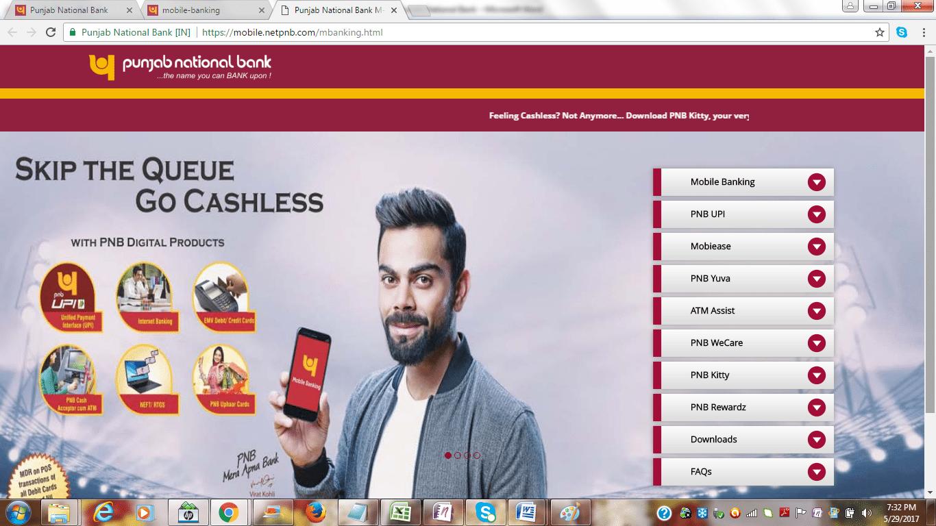PNB Mobile App Registration