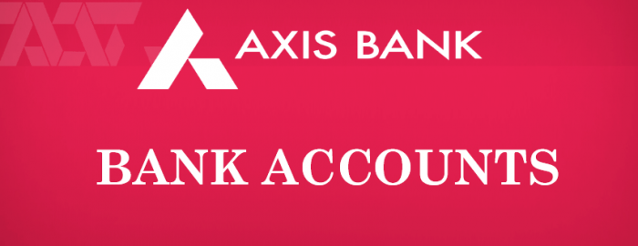 Quick Guide For Axis Bank Accounts