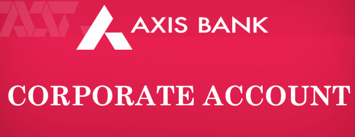 Seniors Guide To Axis Bank Corporate Account