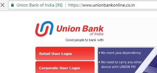 UBI secured official site