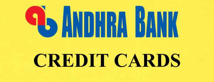 Quick Guide To Andhra Bank Credit Cards
