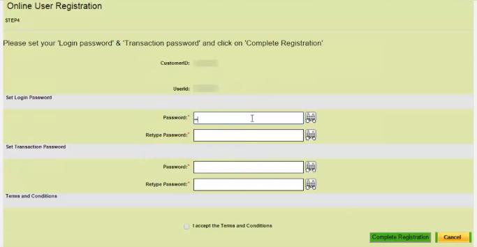 online registration OBC